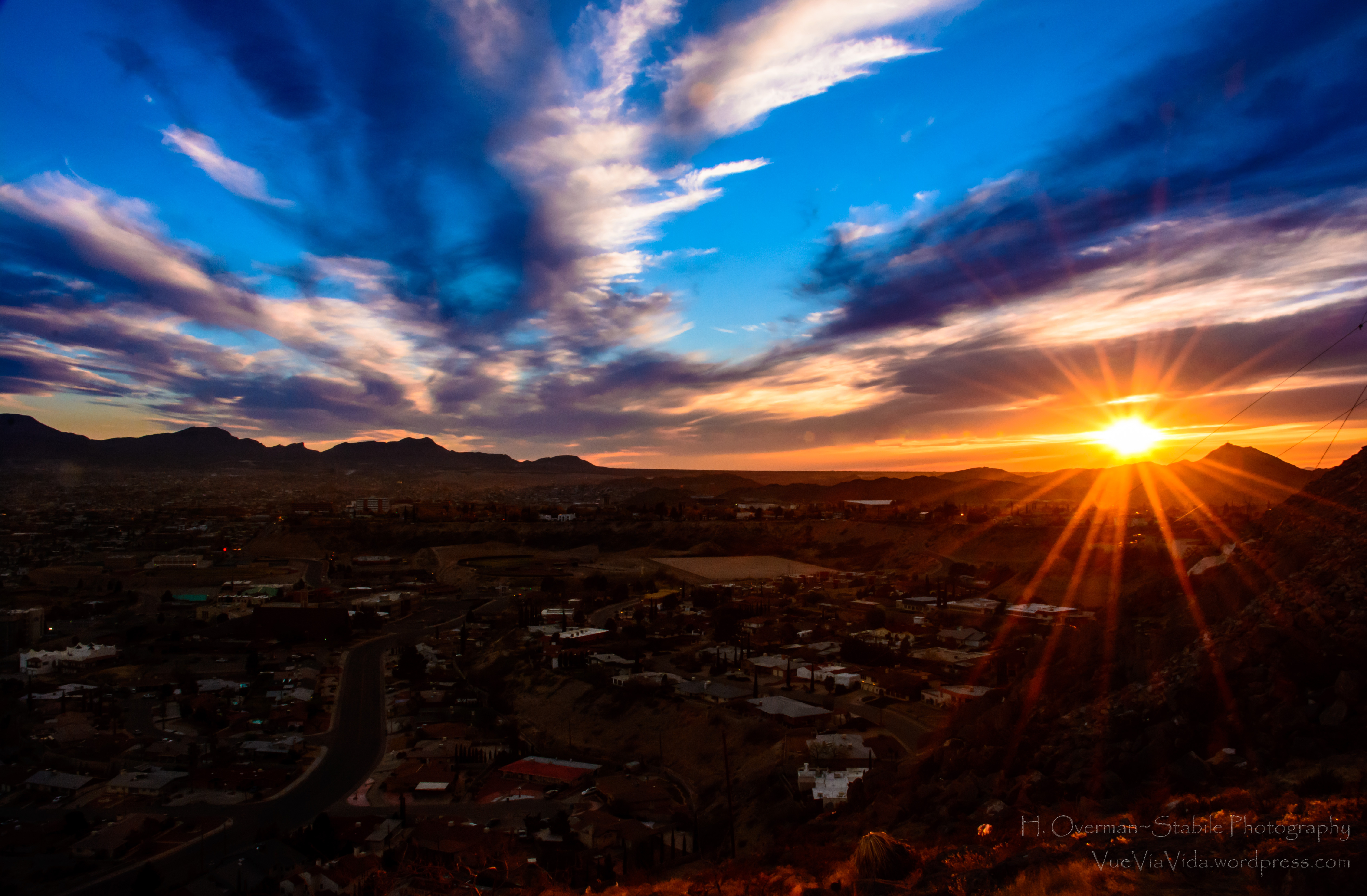 El Paso Texas Star Mountain
